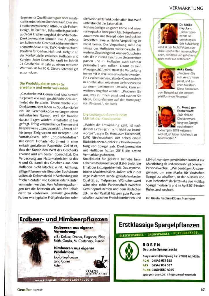 Gemüse, Ausgabe 03/2019 - Seite 66